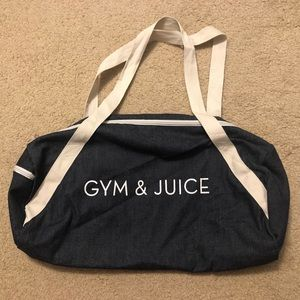 Private Party Gym & Juice Duffle Bag